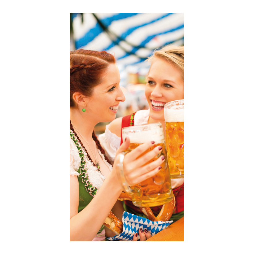 "# Motivdruck ""Oktoberfest"", 180x90cm Papier"
