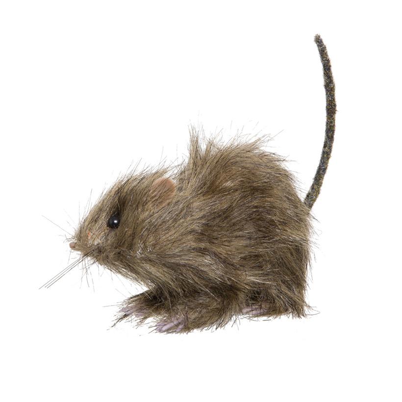 Ratte, 14x6x9cm, Styropor