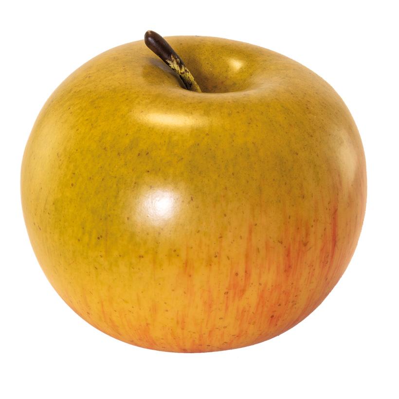 Apfel, 8x8x7cm künstlich