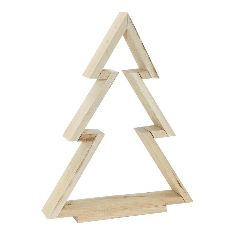 Baumkontur, 40x30x5cm aus Naturholz