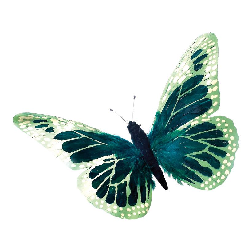 # Schmetterling 45x75 cm Federn