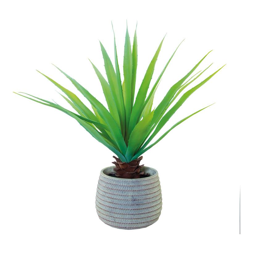 Aloe Vera, 57cm im Topf, künstlich