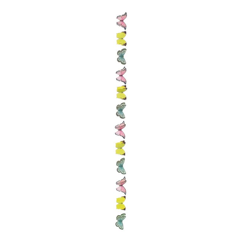 # Schmetterlingskette 240 cm Papier