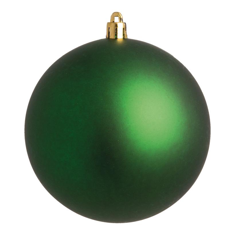 Weihnachtskugel, grün matt, Ø 8cm 6 St./Karton