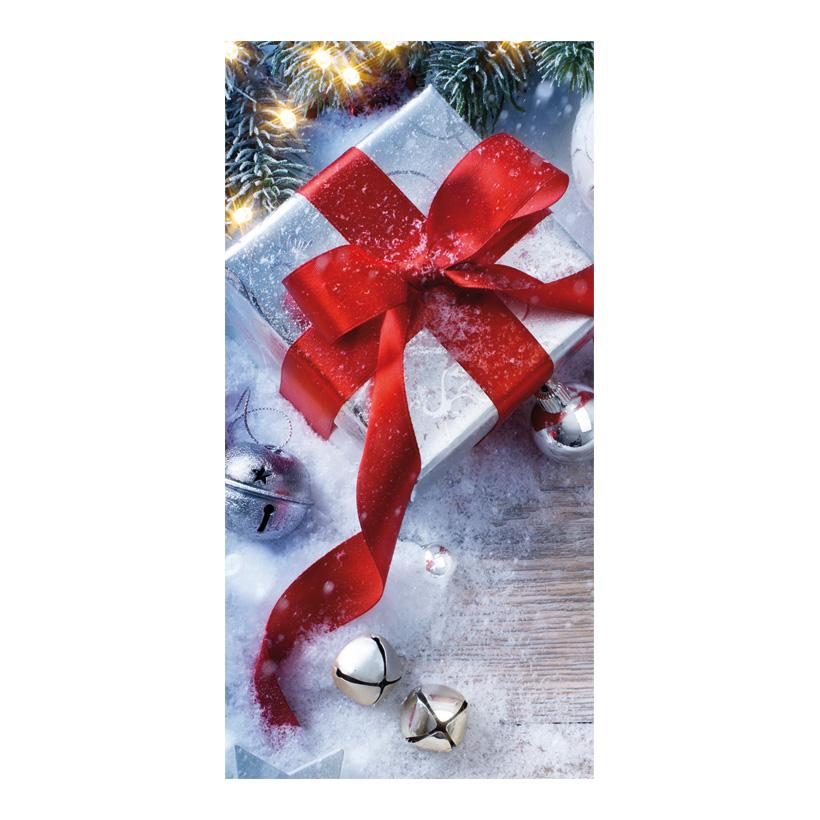 "# Motivdruck ""Geschenk"", 180x90cm Papier"