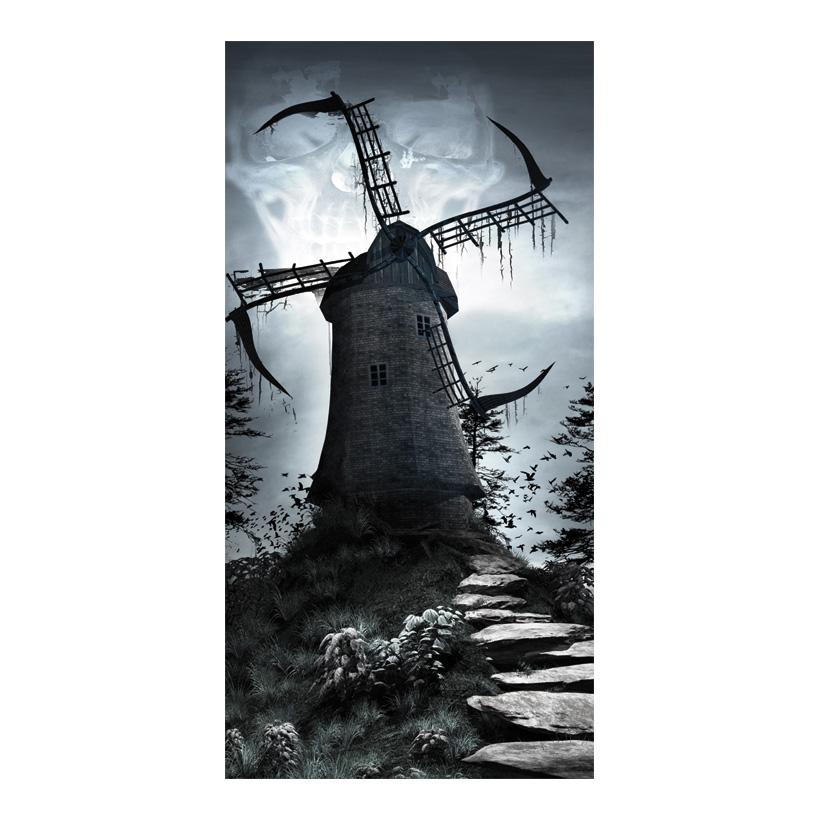 "# Motivdruck ""Windmill of death"", 180x90cm Stoff"
