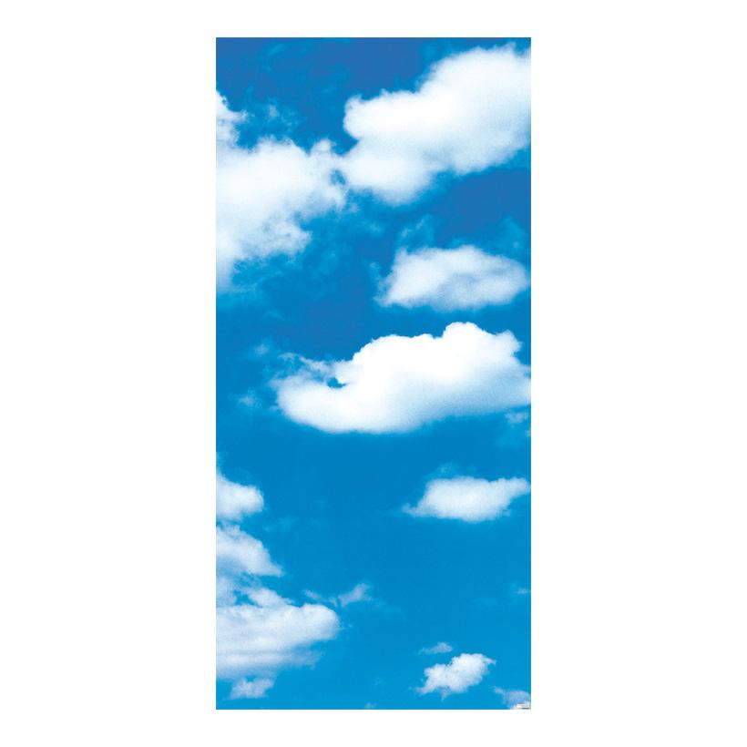 """# Motivdruck """"Wolkenhimmel"""", 180x90cm Stoff"""