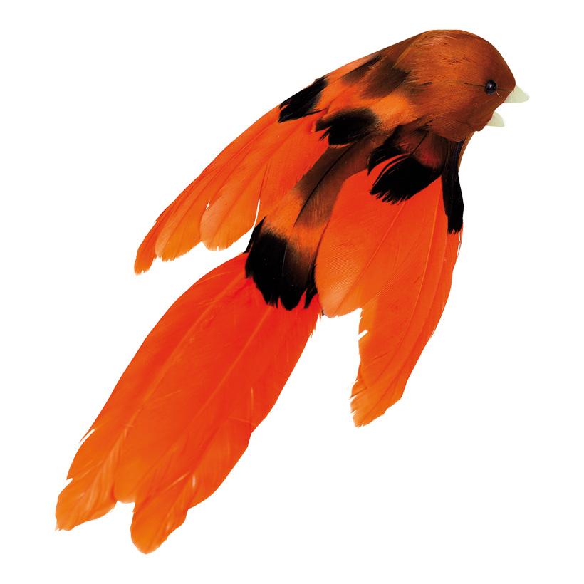# Dekovögel 16 cm Styropor/Federn, 10 Stk./Satz