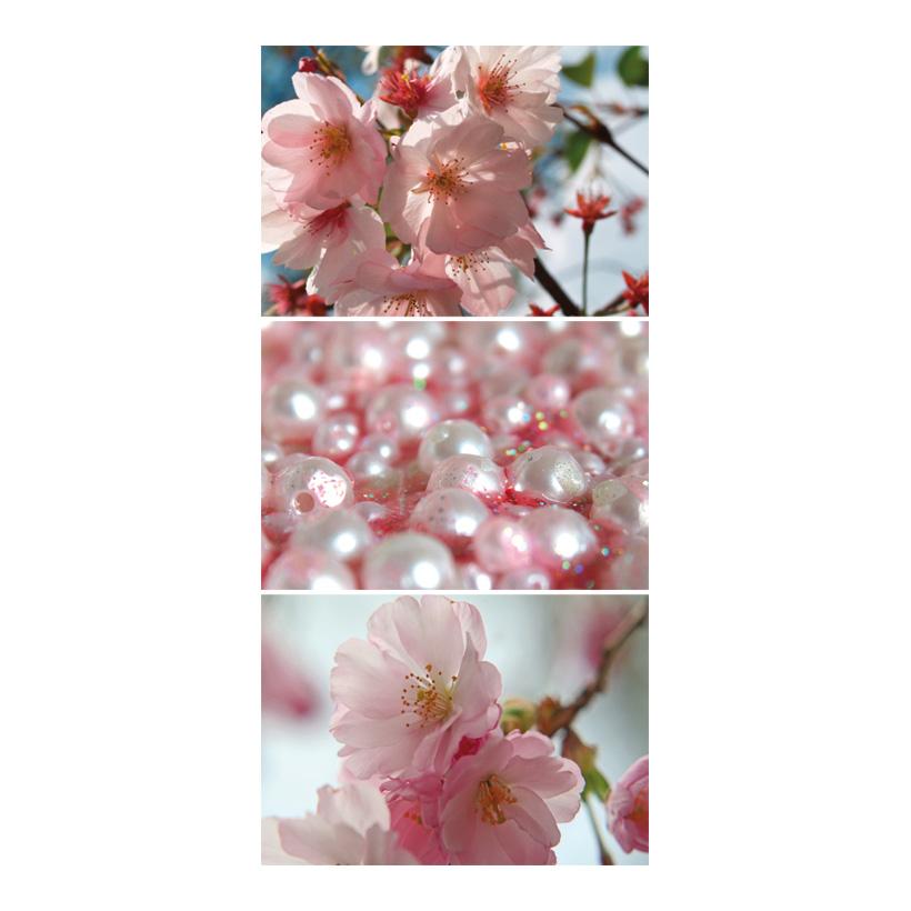 "# Motivdruck ""Kirschblüte"", 180x90cm Stoff"