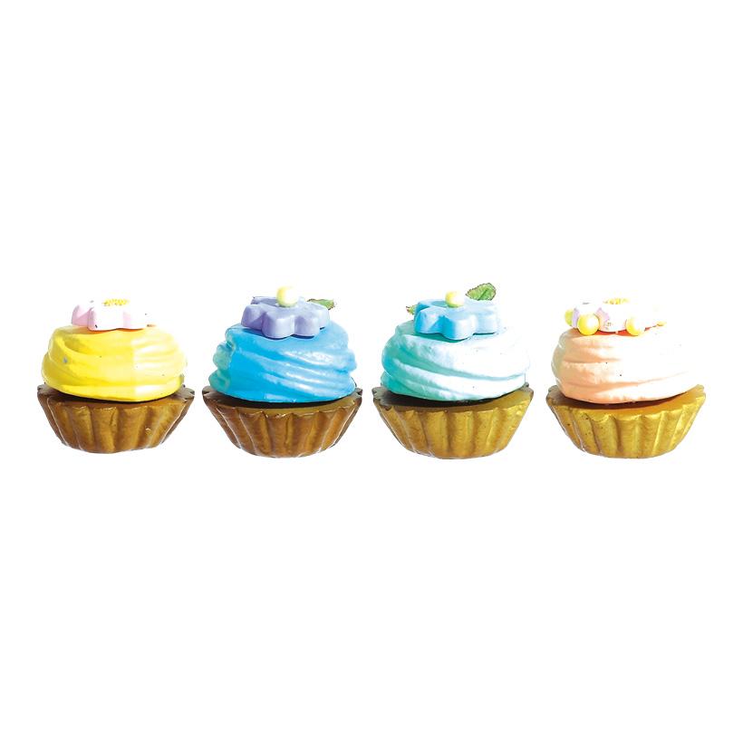 # Cupcakes 6x7 cm Styropor, 12 Stck./Box