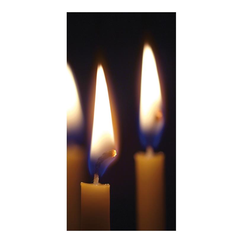 "# Motivdruck ""Kerzenschein"", 180x90cm Papier"