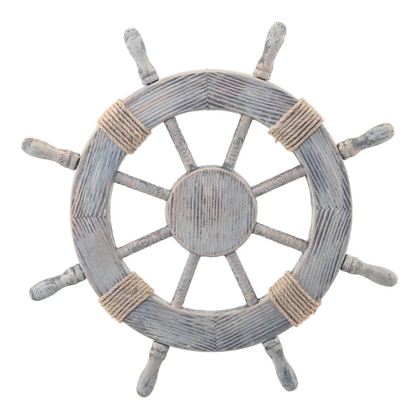 Steuerrad, Ø: 60cm aus Holz