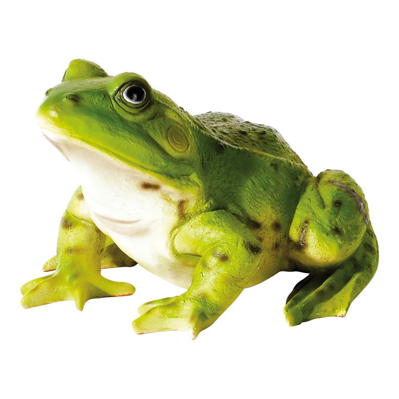 # Frosch 22x18x14 cm Kunstharz