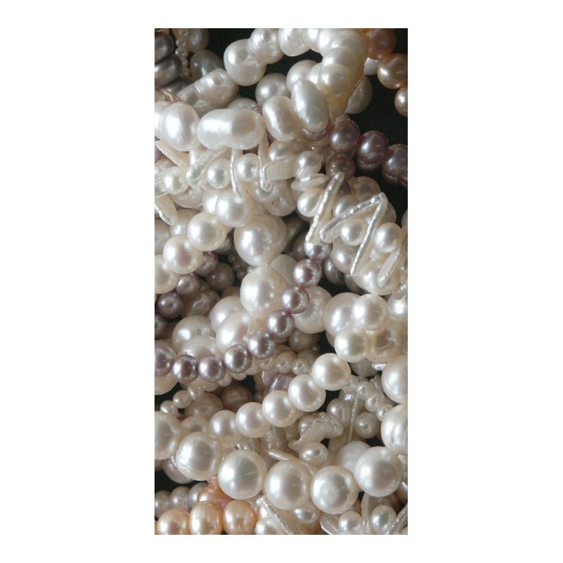 "# Motivdruck  ""Perlen"", 180x90cm Stoff"