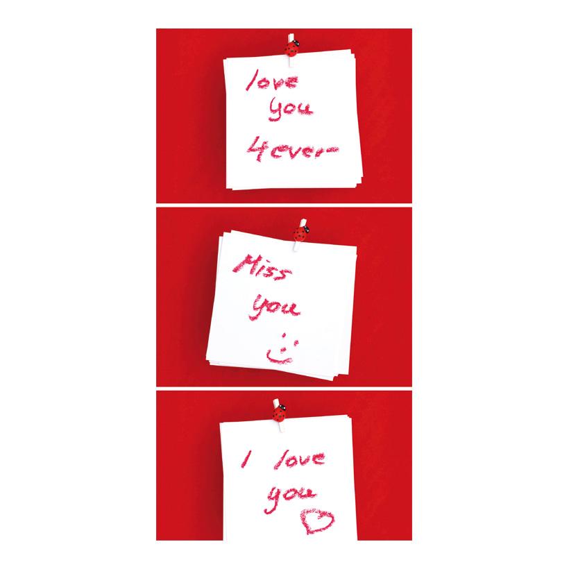 """# Motivdruck """"Private messages"""", 180x90cm Papier"""