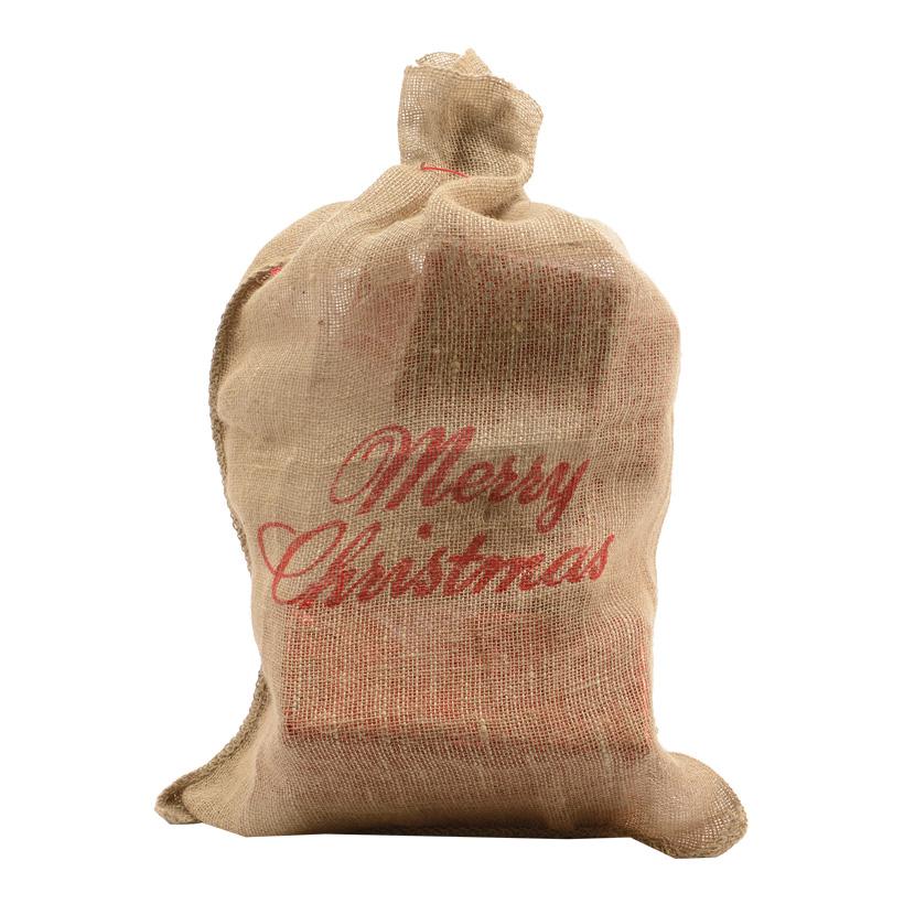 # Jute-Geschenksack, 60x90cm Merry Christmas