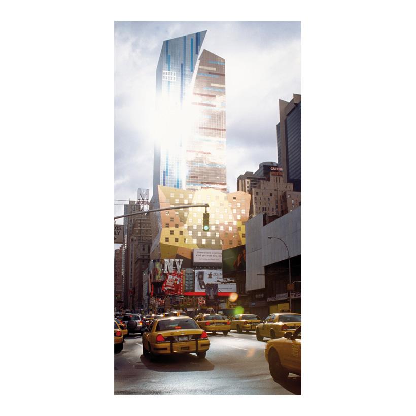 "# Motivdruck  ""Yellow cab"", 180x90cm Papier"