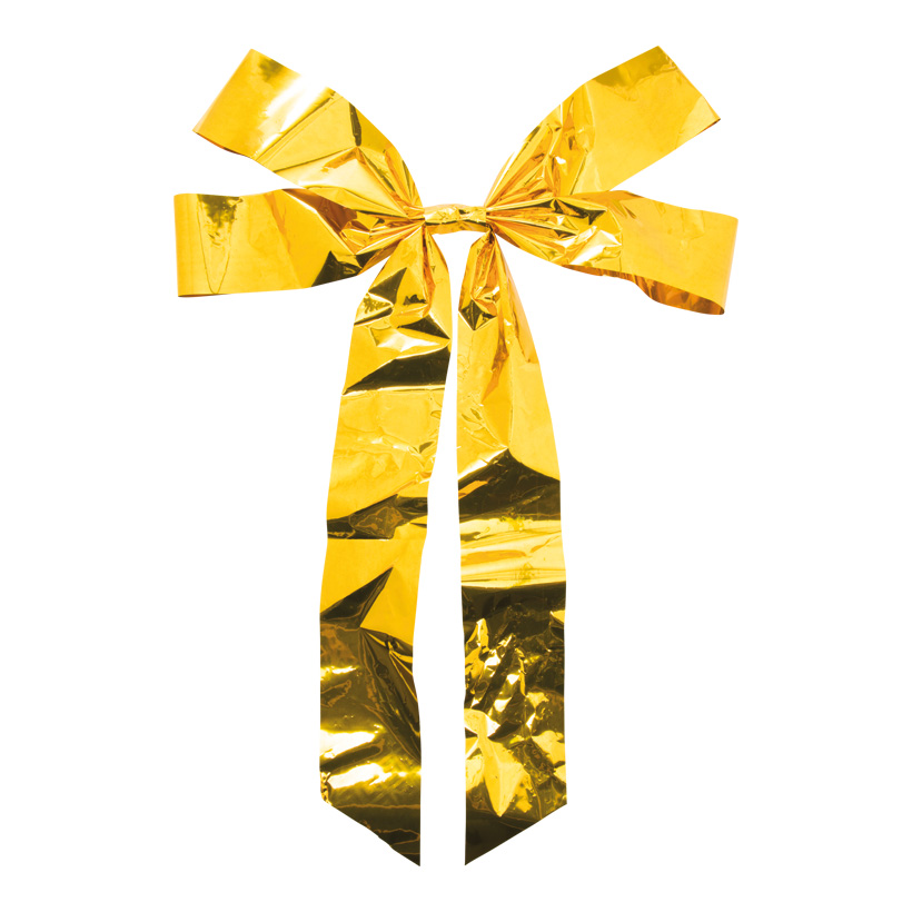 Folienschleife, 73x55cm mit 4 Schlaufen, aus PVC-Folie