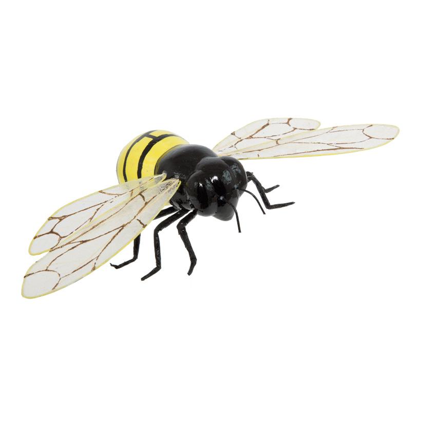 Biene, 24x11cm, Styropor mit Papier überzogen