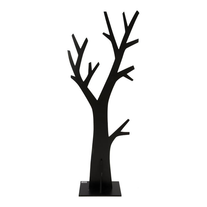 Baum, Holzplatte: 25x35cm, Holz, Baum: 150x60cm